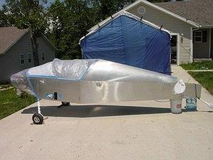 Jeff Shultz S Sonex 0604 Web Site Painting The Airplane